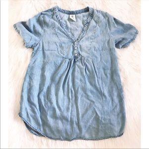 H&M Mama Maternity Denim Blouse